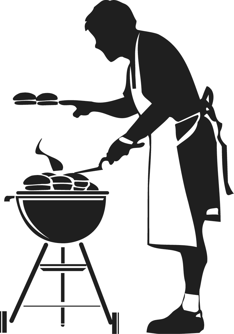 big plans for memorial day weekend  follow these red cross girl clip art black and white grill clipart images