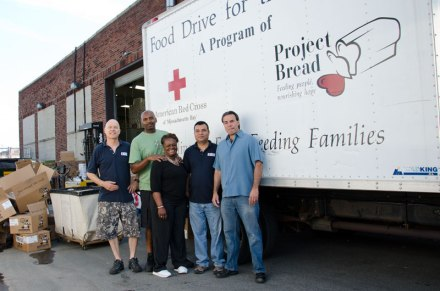 Red Cross Boston Food Pantry - staff