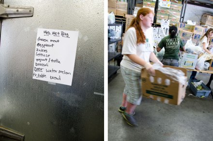 Red Cross Boston Food Pantry - Food project volunteer