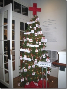 American Red Cross Christmas Tree
