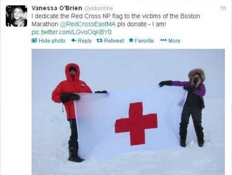 North pole tweet