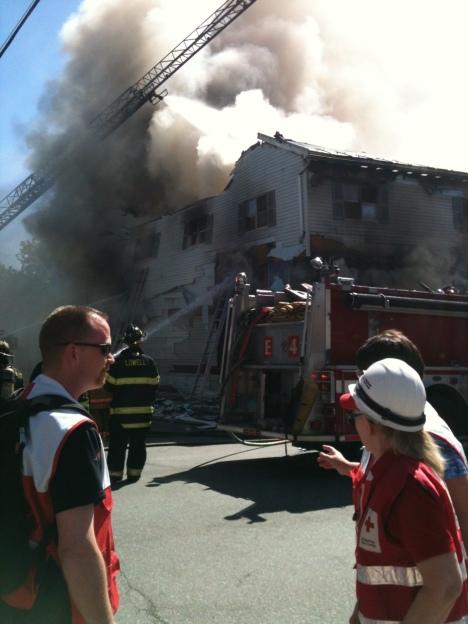 Fire in Lowell