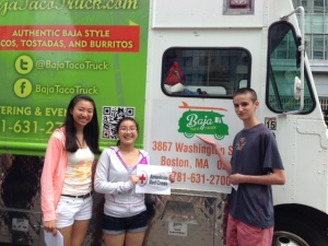 They also found a Food Truck to take a photo with