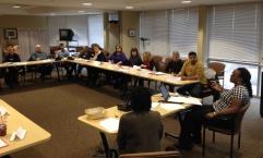 Volunteers are undergoing ambassador training in Worcester